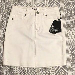 PAIGE Jean skirt